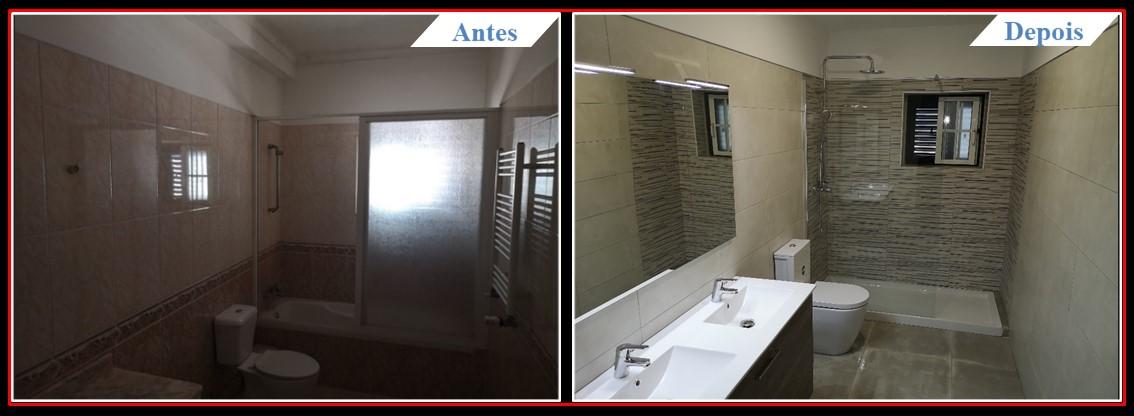Remodelação Famões - Casa banho 3.1