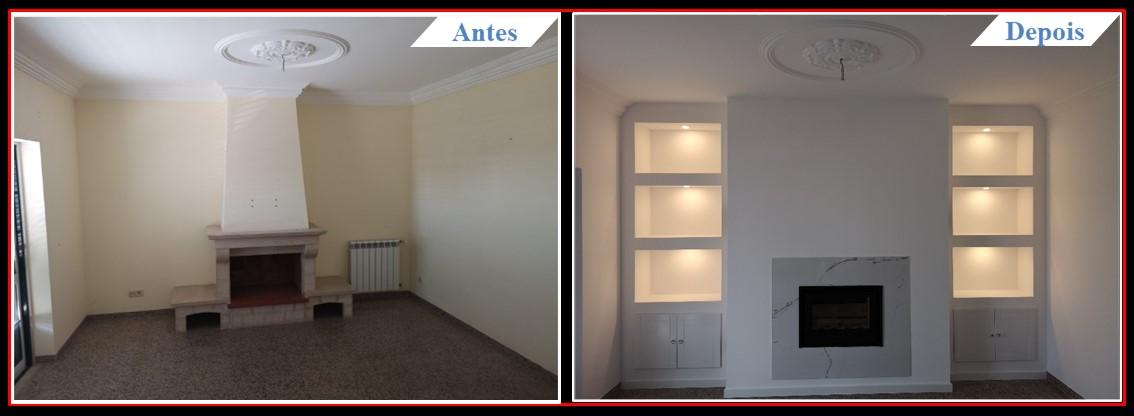 Remodelação Famões - Sala 1.1