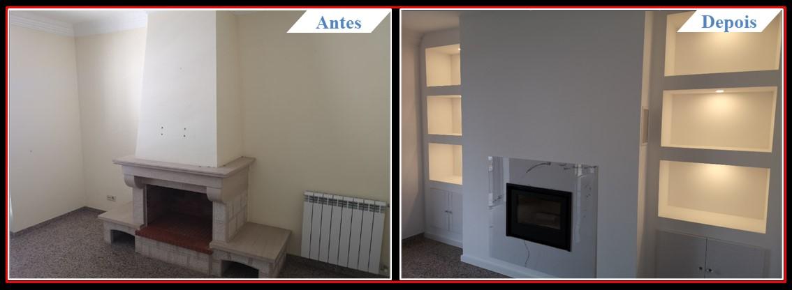 Remodelação Famões - Sala 1.2