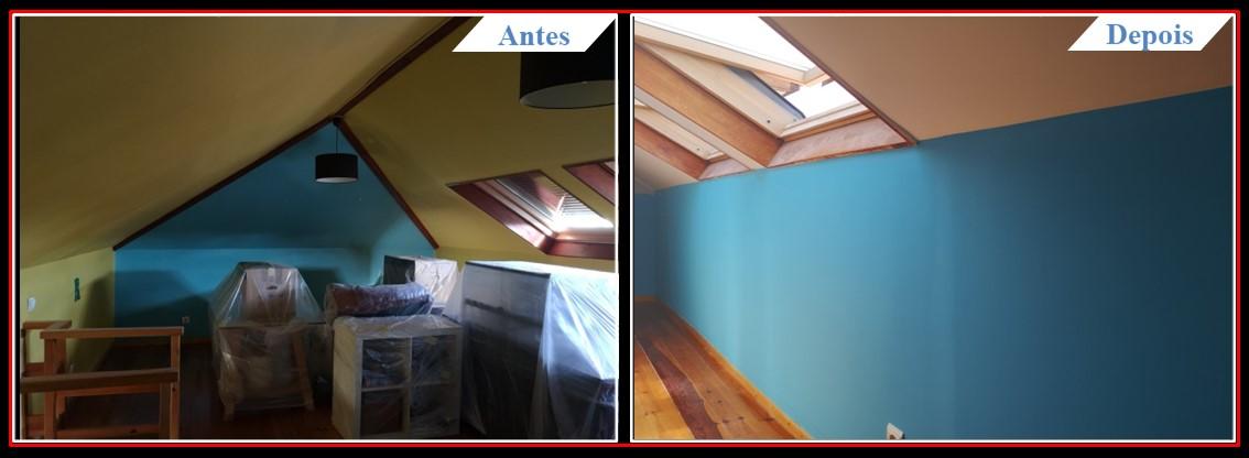 Remodelação Moradia V3 Telheiras - Sótão 1.1