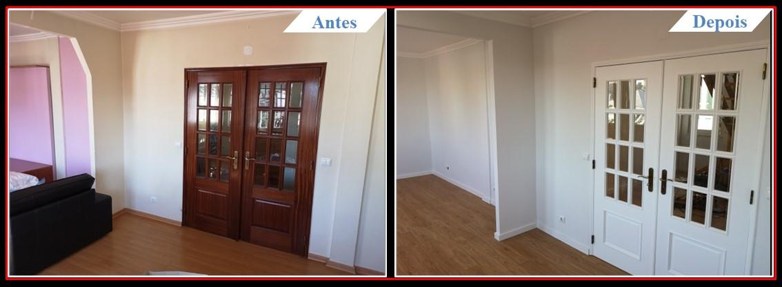 Remodelação Moradia V3 Telheiras - Sala 1.0