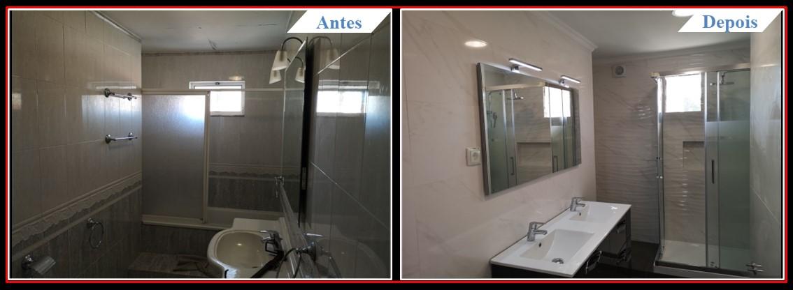 Remodelação Moradia V3 Telheiras - WC 1.0