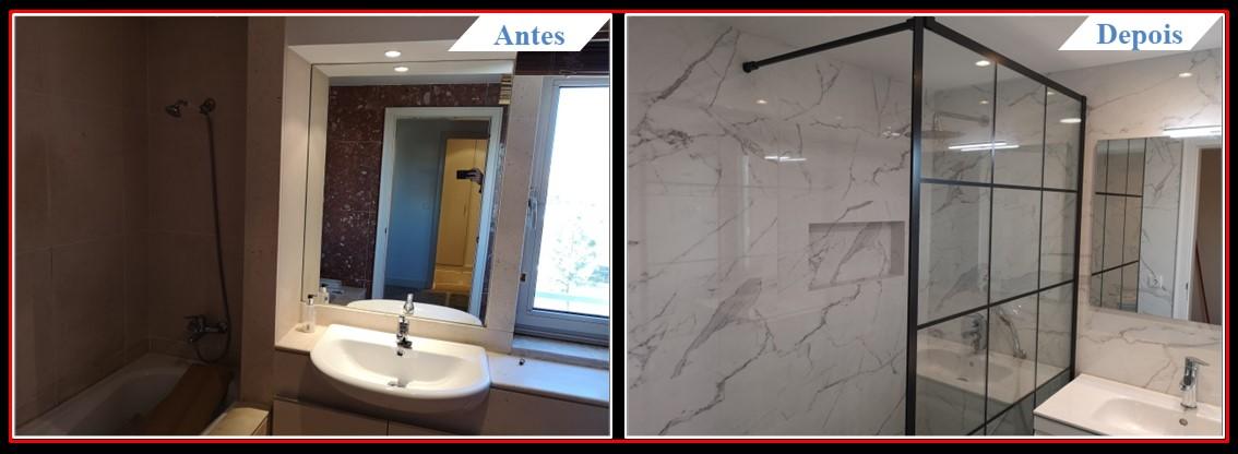 Remodelação de Apartamento T2 Lumiar - Casa banho 1.0