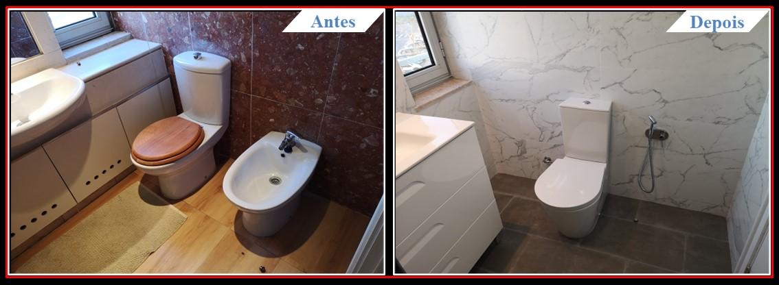 Remodelação de Apartamento T2 Lumiar - Casa banho 1.1