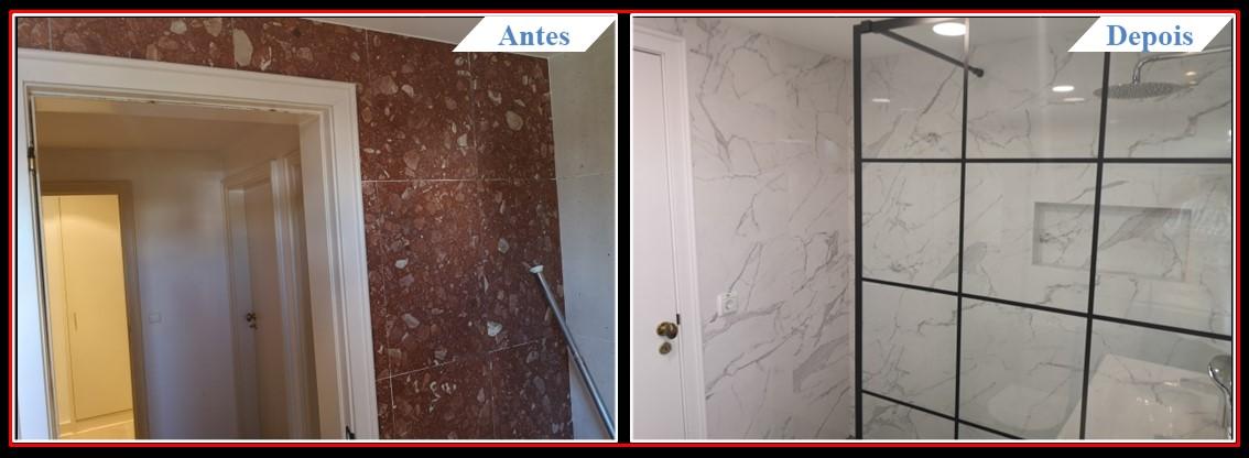 Remodelação de Apartamento T2 Lumiar - Casa banho 1.2