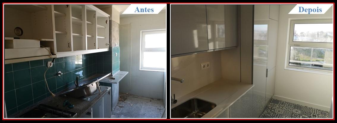 Remodelação de Apartamento T2 Lumiar - Cozinha 1.0