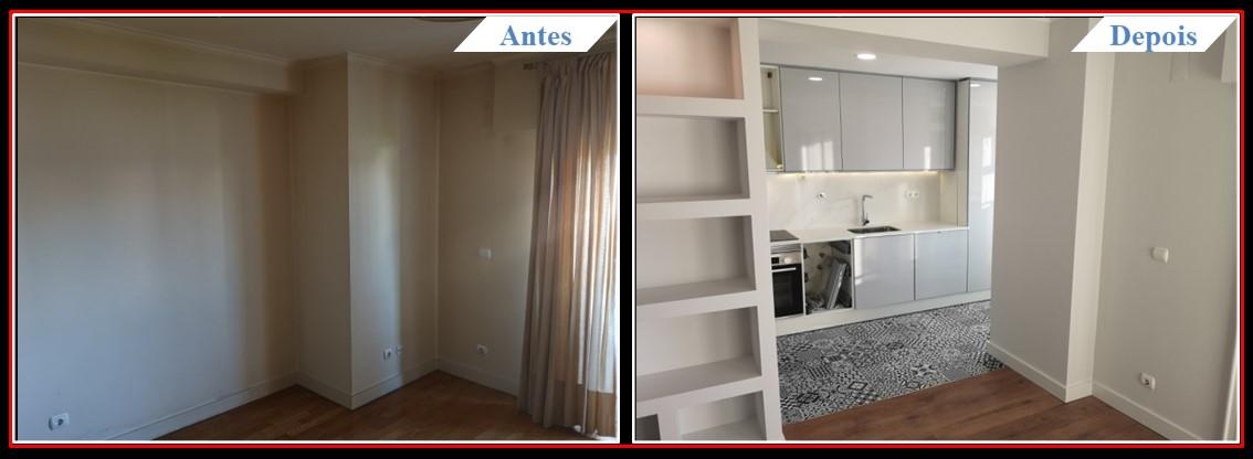 Remodelação de Apartamento T2 Lumiar - Sala 1.0