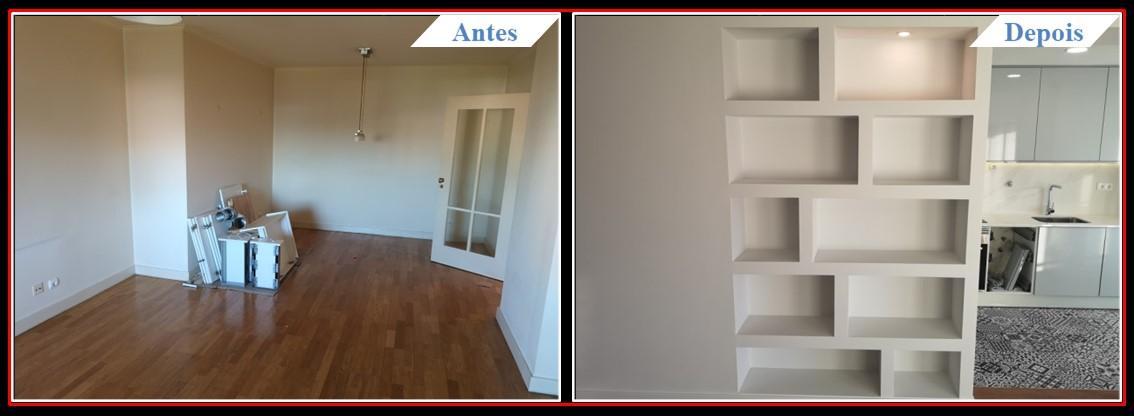 Remodelação de Apartamento T2 Lumiar - Sala 1.1