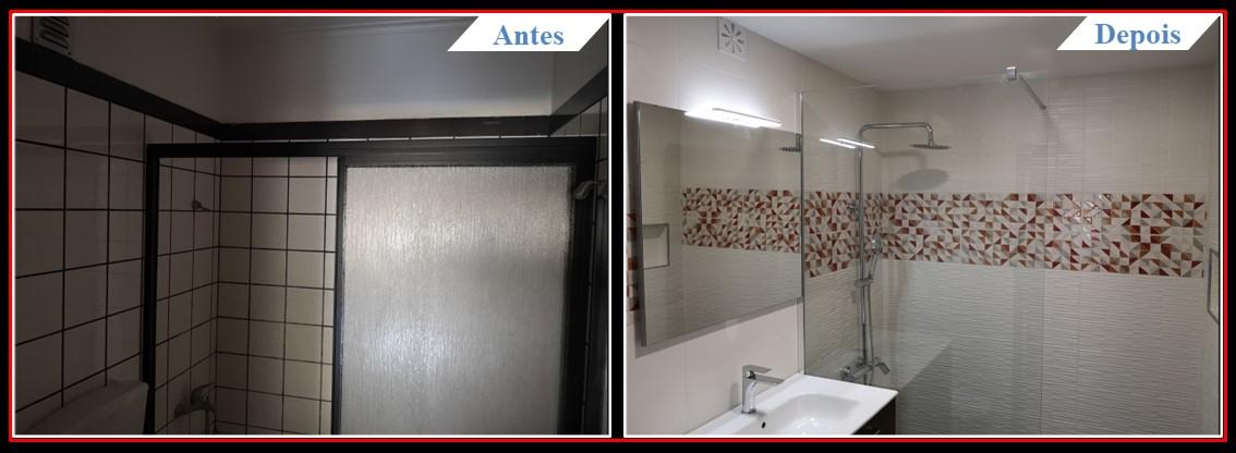 Remodelação de casa banho Sintra - Casa banho 1.2